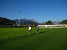 Soccer and power training in Seefeld
