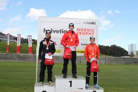 Swiss nationals podium