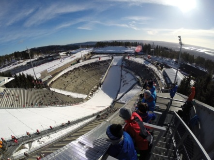 Raceday in Holmenkollen