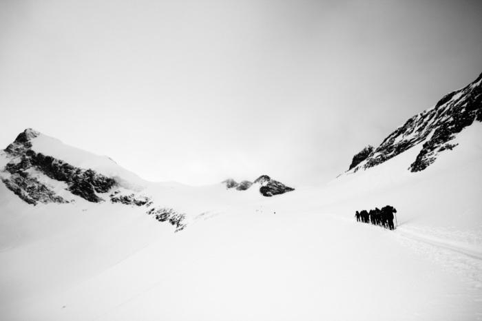Storebjørn 2222 moh. Ascent