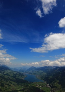 View from Giswilerstock